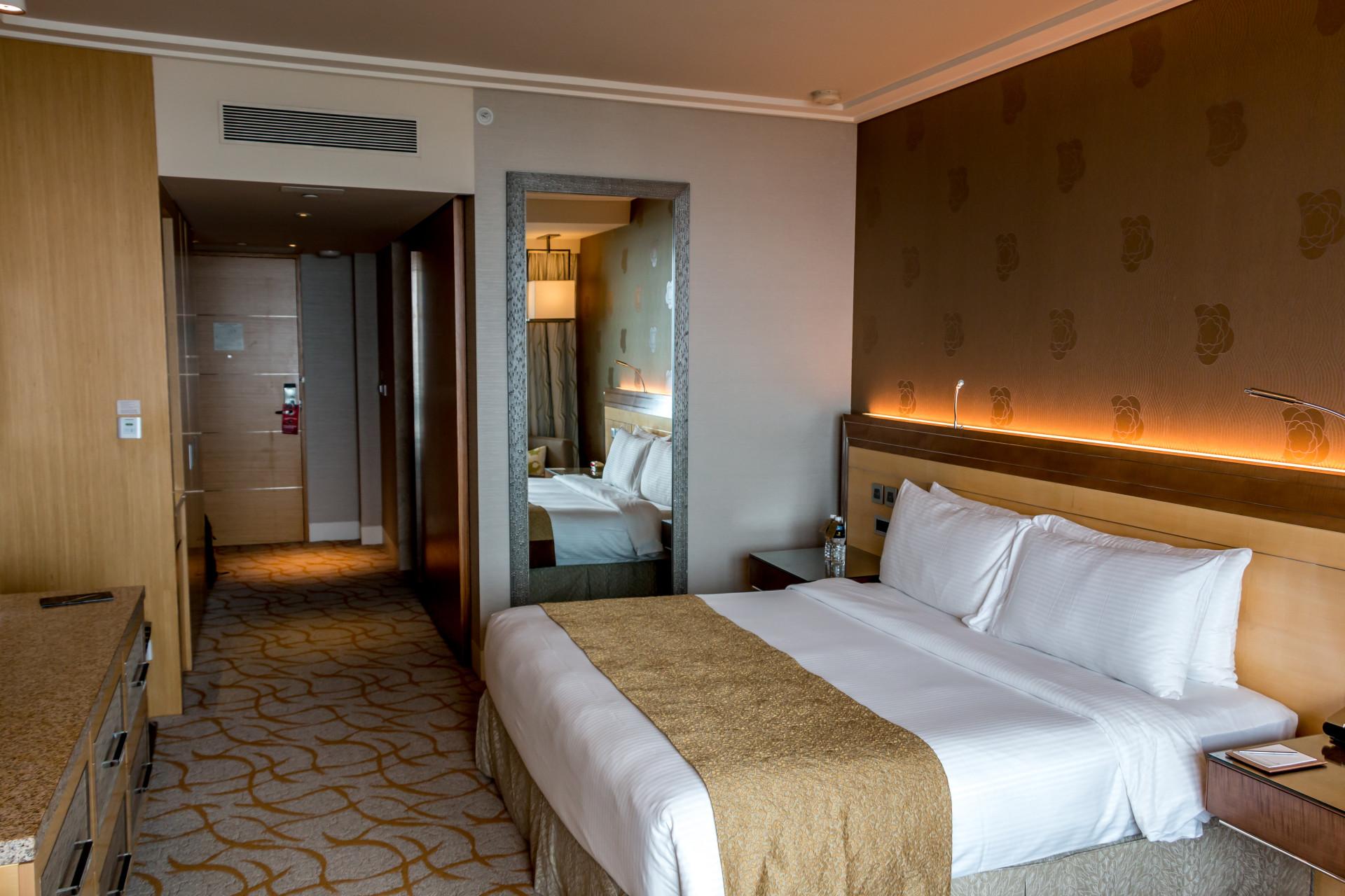 Chambre hôtel Marina Bay Sands