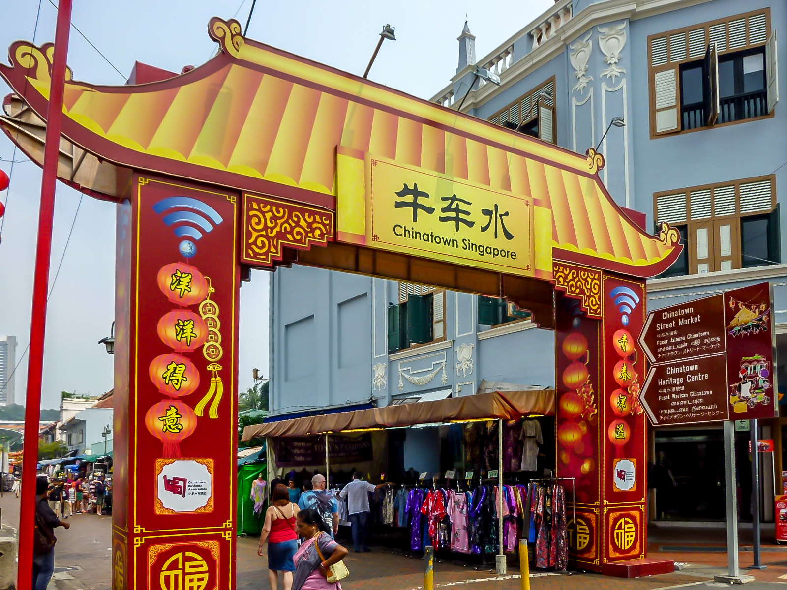 Direction Chinatown