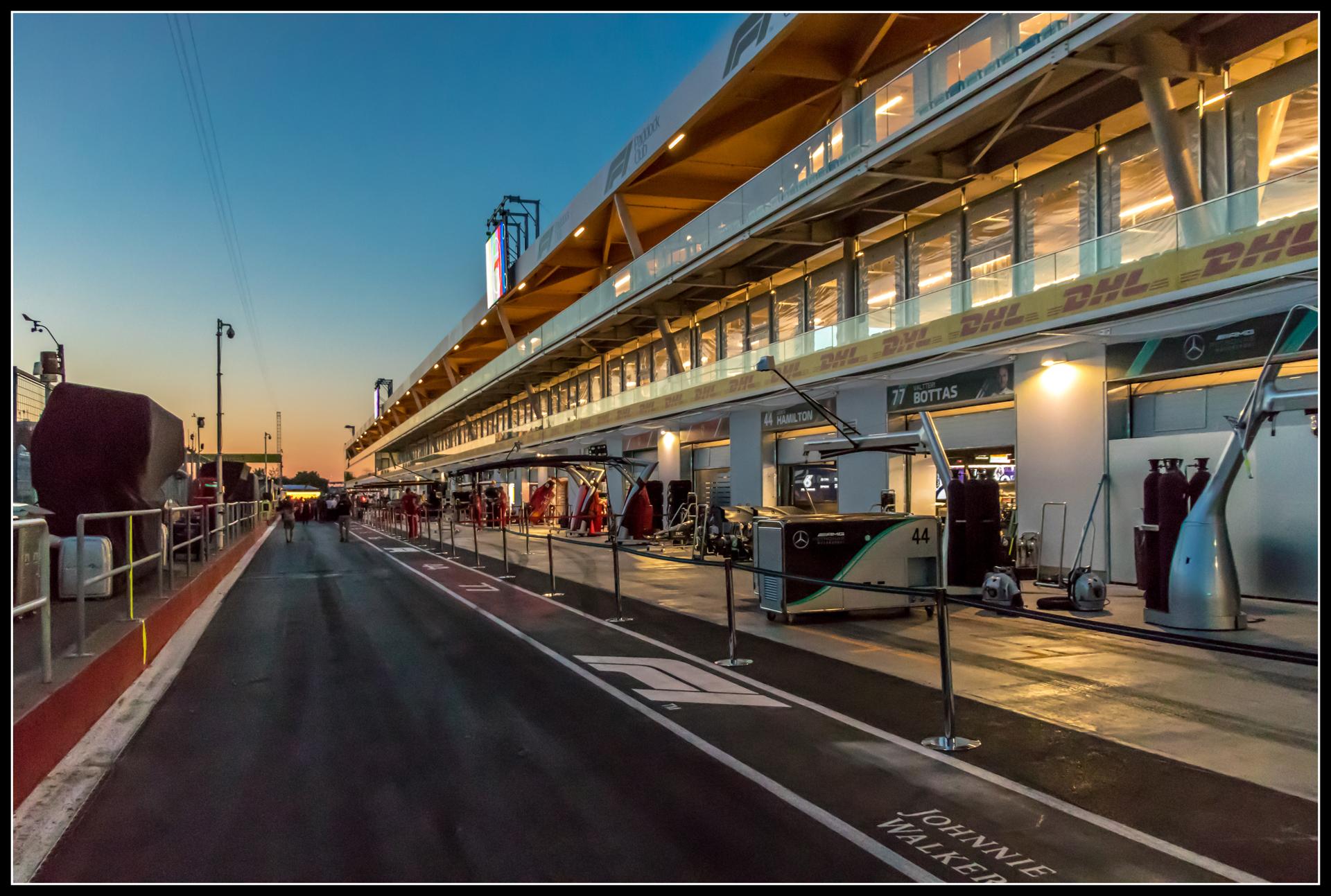 Au circuit Gilles Villeneuve